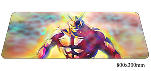 Boku No Hero Academia My Hero Large Mouse Pad 800x300x2mm Best PC Gaming Pad HD Print