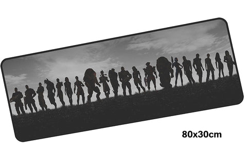 B&W Mass Effect Large Mouse Pad 800x300mm Best PC Gaming Mouse Pad HD Print