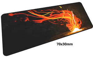Dark Souls Fire Large Mouse Pad 700x300mm Best PC Gaming Pad HD Print
