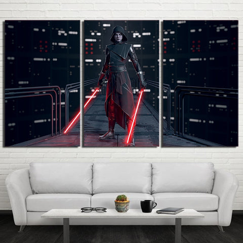 3 Panel Movie Star Wars Character Modern Decor Canvas Wall Art HD Print
