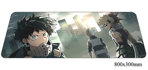 Boku No Hero Academia Three Characters Large Mouse Pad 800x300x2mm Best PC Gaming Pad HD Print