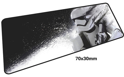 Star Wars First Order Trooper Large Mouse Pad 700x300mm Best PC Gaming Pad HD Print