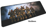 Warface Large Mouse Pad 700x300X3mm Best PC Gaming Pad HD Print