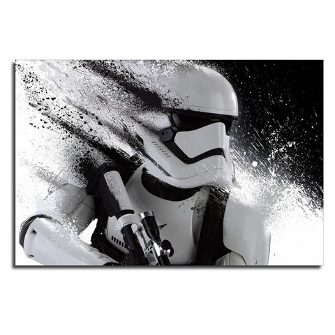 Star Wars First Order Stromtrooper Modern Décor Wall Art Canvas HD Print