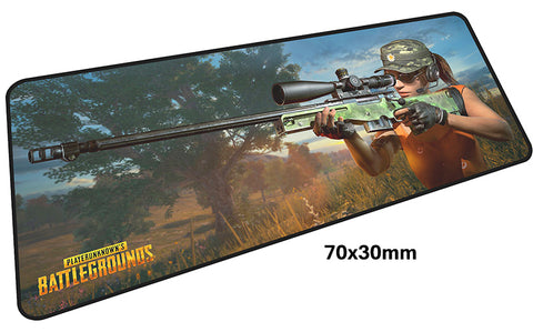 PUBG Hot Sniper Large Mouse Pad 700x300mm Best PC Gaming Pad HD Print
