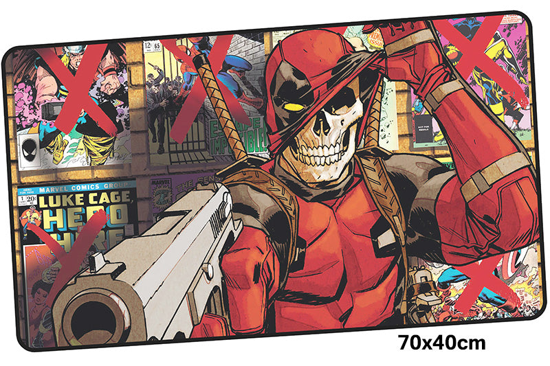 Deadpool Comic Version Large Mouse Pad 700x400X3mm Best PC Gaming Pad HD Print