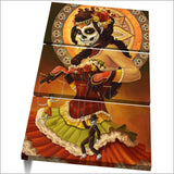 3 Panel Framed Day of the Dead Modern Décor Canvas Wall Art HD Print