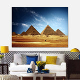 Egypt Pyramids Modern Decor Canvas Wall Art HD Print