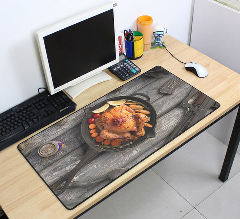 PUBG Chicken Dinner 70cmx40cm Super Large PC Gaming Mouse Pad HD Print