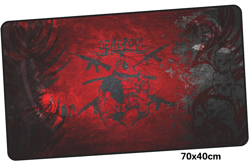 Deadpool Silhouette Large Mouse Pad 700x400X3mm Best PC Gaming Pad HD Print