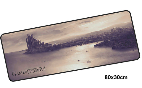 Game of Thrones Kingslanding Large Mouse Pad 800x300mm Best PC Gaming Pad HD Print