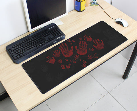 Lots of Bloody Hands Large Mouse Pad 800x300X3MMBest PC Gaming HD Print
