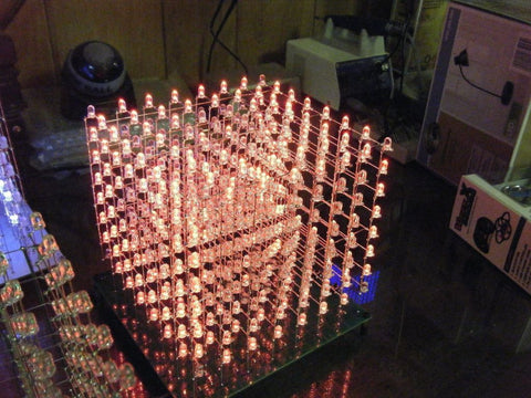 Build A Huge 8x8x8 Arduino Controlled Led Cube Freetronics