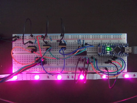 Controlling high current led strips with arduino freetronics aloadofball Images