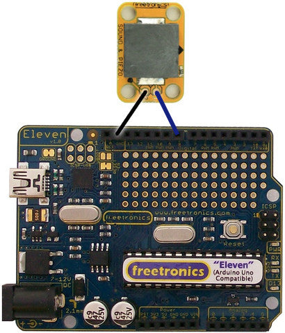 SOUND Sound and Buzzer Module Quickstart Guide | Freetronics