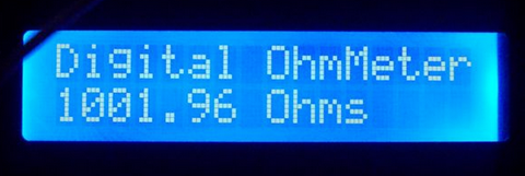 how to make your own ohmmeter