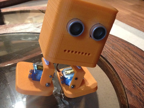 BOB: The easy to build 3D printed robot