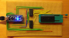 Make your own PC-controlled EEPROM programmer with Arduino