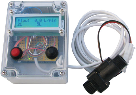 Jaycar Water Flow Gauge Freetronics