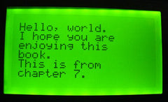 The Freetronics Blogger World: Simple font generator for Graphic LCD
