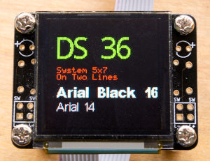 OLED128 QuickStart Guide | Freetronics