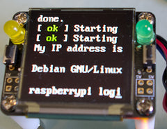 Oled128 Quickstart Guide Raspberry Pi Freetronics