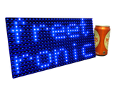 Blue LED Dot Matrix Display Panel 32x16 (512 LEDs)