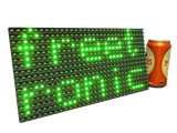 Green LED Dot Matrix Display Panel 32x16 (512 LEDs)