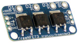 Addressable Triple N-MOSFET driver / output module