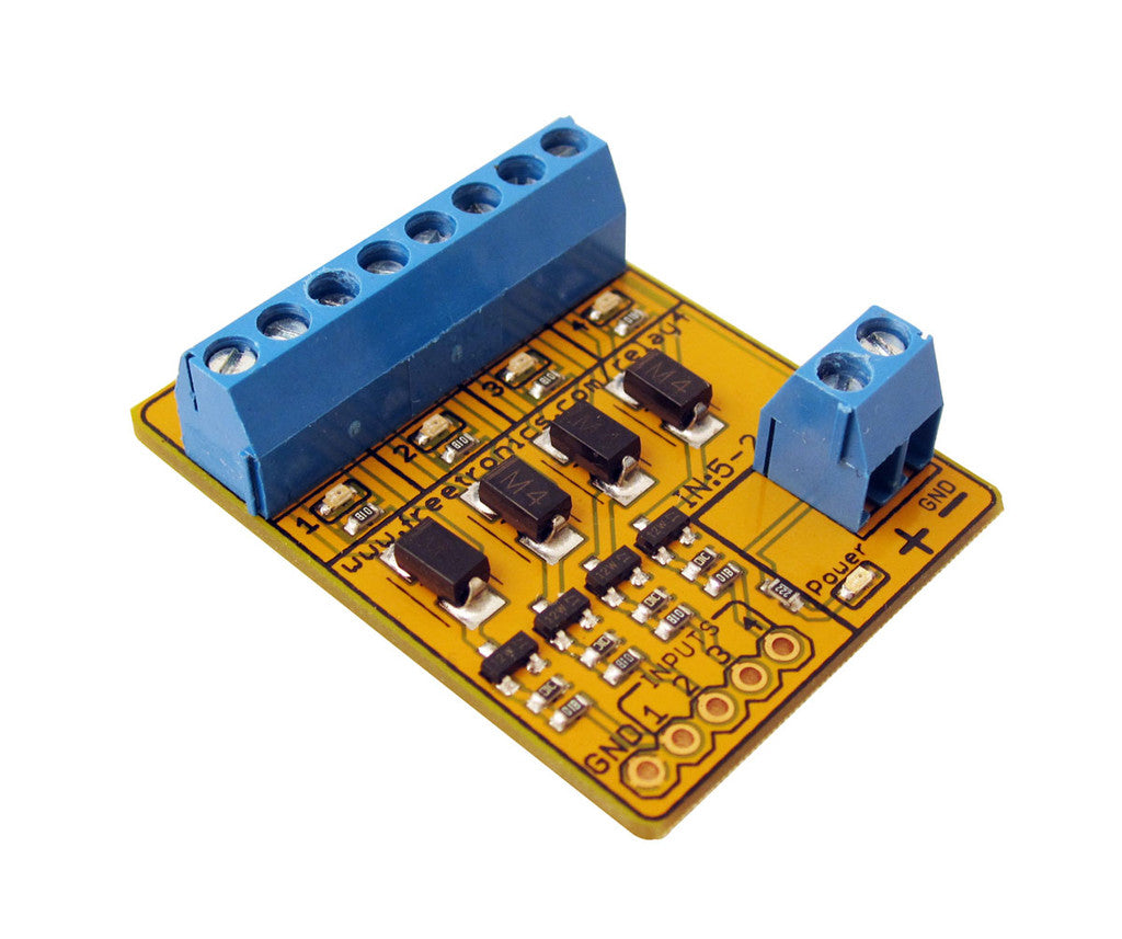4 Channel Relay Driver Module Freetronics Basic Circuit