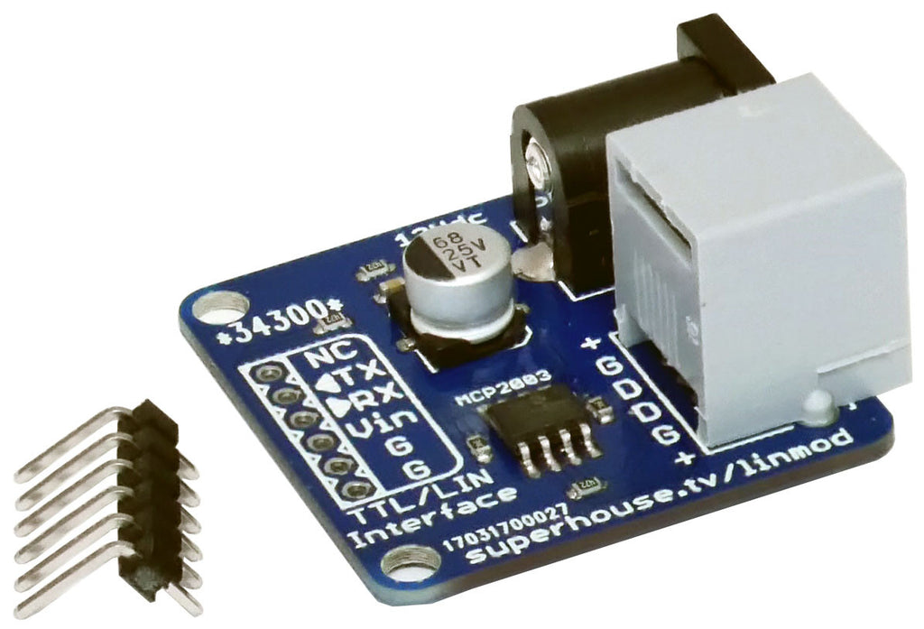 LIN Bus Serial Adapter Module | Freetronics