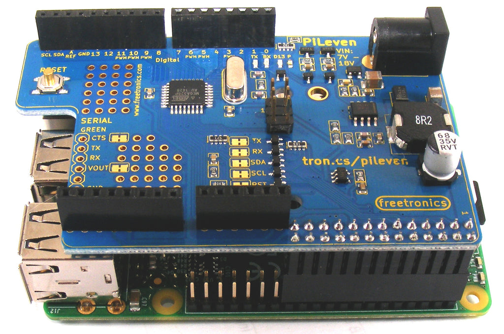 PiLeven Arduino Compatible Expansion for Raspberry Pi