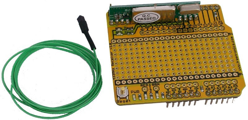 433MHz Receiver Shield for Arduino | Freetronics