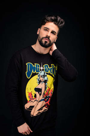 Doll + Rocket Pinup Sweatshirt