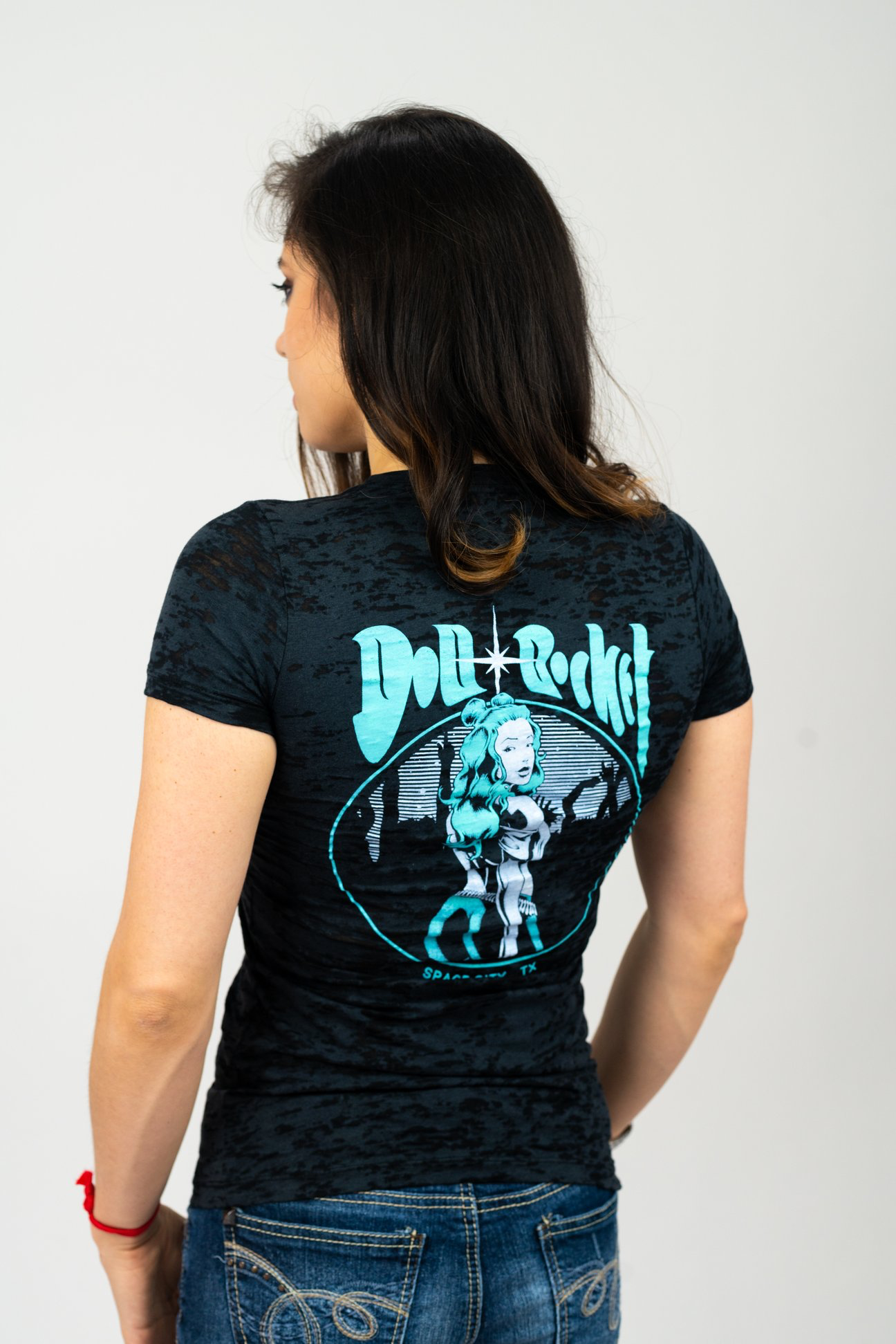 Doll + Rocket Burnout Tee