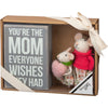 Box Sign Mouse - Mom Gift Set