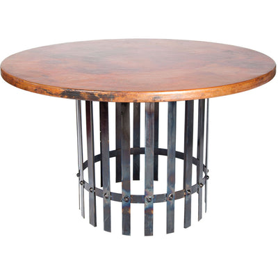 Ashton Dining Table with Copper Top