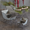 Galvanized Sleigh (Set-3)