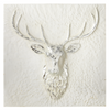 Embossed Stag Wall Plaque