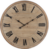 Roman Numeral Wall Clock-Iron Accents