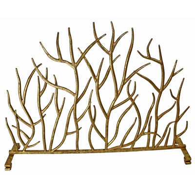 Italian Gold Iron Twig French Screen