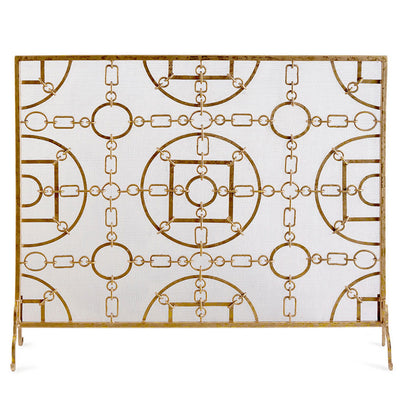 Golden Chain French Screen w/ Mesh