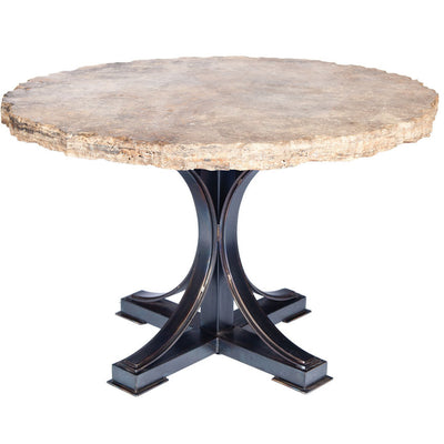 Winston Dining Table with Marble Top