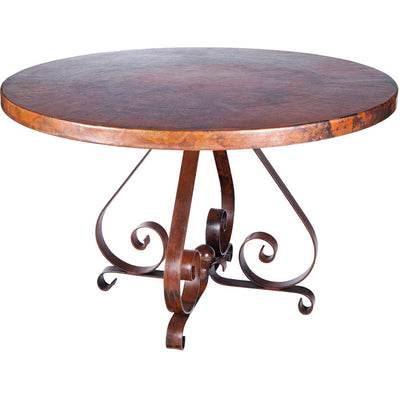 Pierre Dining Table with Copper Base
