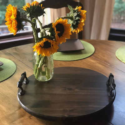 Small Lazy Susan - Walnut