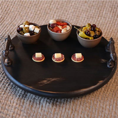 Small Lazy Susan - Black