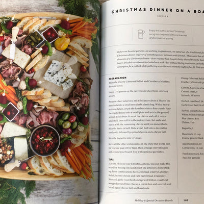 On Boards - Charcuterie Book - Christmas Dinner on a Board