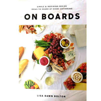 On Boards - Charcuterie Book