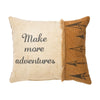 Canvas Pillow - Make More Adventures