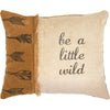 Canvas Pillow - A Little Wild